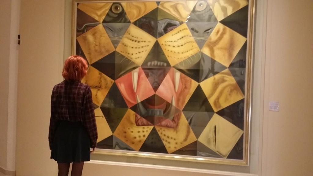 Interior del Museo Dalí, en Figueres, Girona.