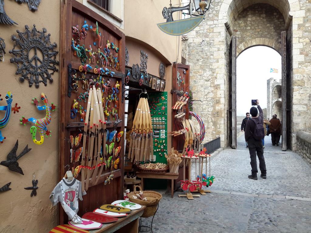 Besalú, Girona.