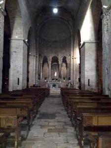 Monasterio de San Pedro en Besalú, Girona.