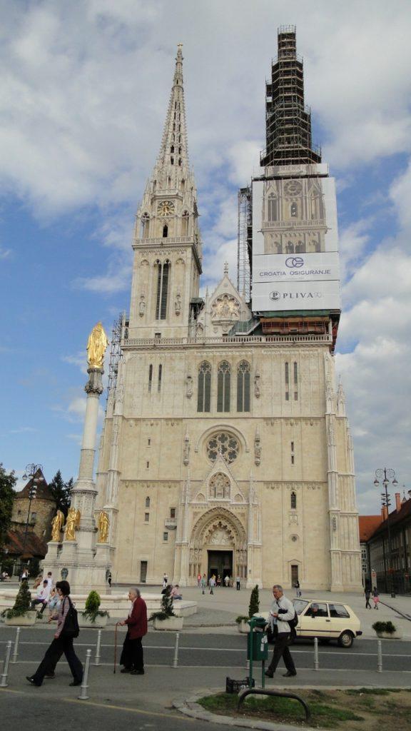 Catedral de Zagreb, Croacia.