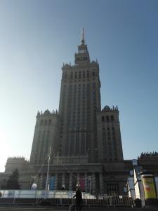 Palacio de Cultura en Varsovia.
