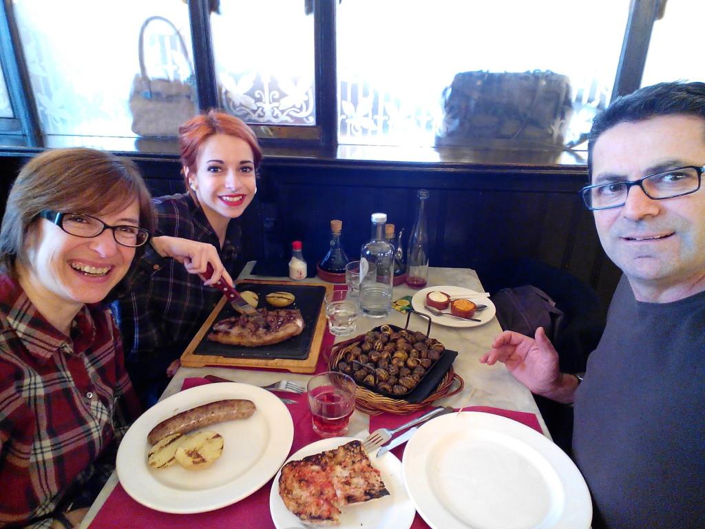 Restaurante Can Punyetes en Figueres, Girona.