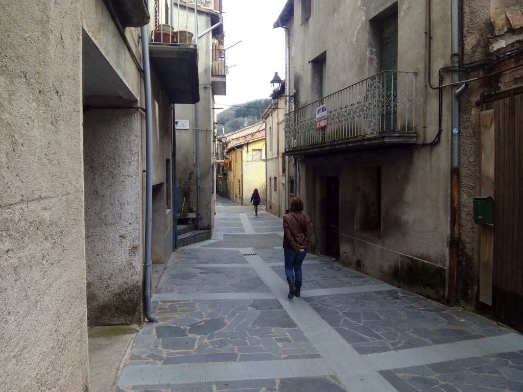 Paseando por Castellfollit de la Roca...
