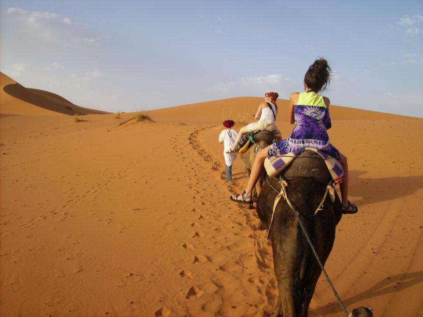 Desierto de Merzouga.