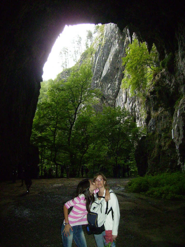 Exterior de las Cuevas de Skocjan.