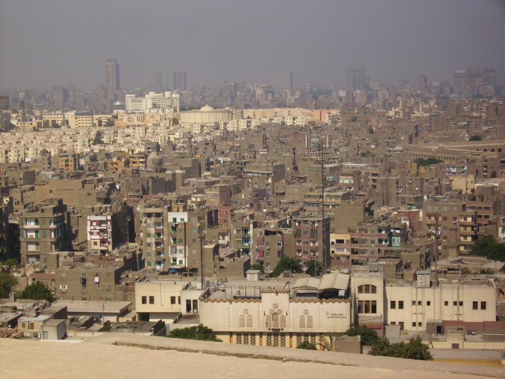 Vista panóramica de El Cairo.