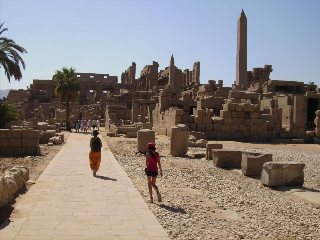 Templo de Karnak.