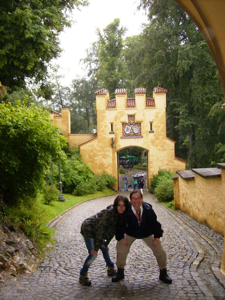 Castillo de Hohenschwangau, otro de los castillos del Rey Loco, en Alemania.