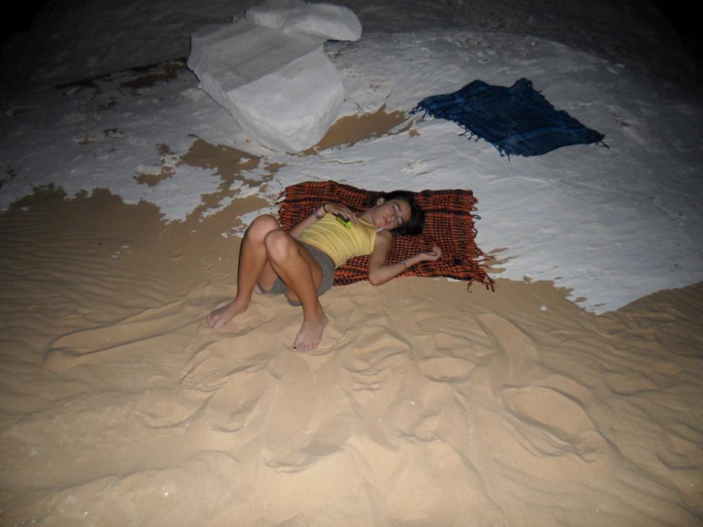 Durmiendo en el Desierto Blanco