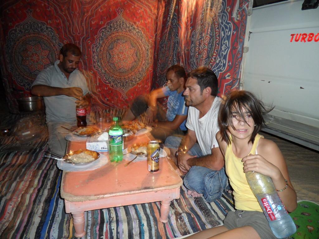 Cena Beduina en el Desierto.