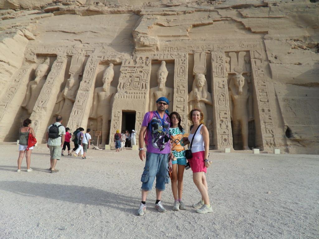 Templo de Abú Simbel.