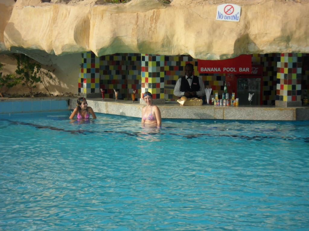 Piscina del hotel Pyramisa Aswan.