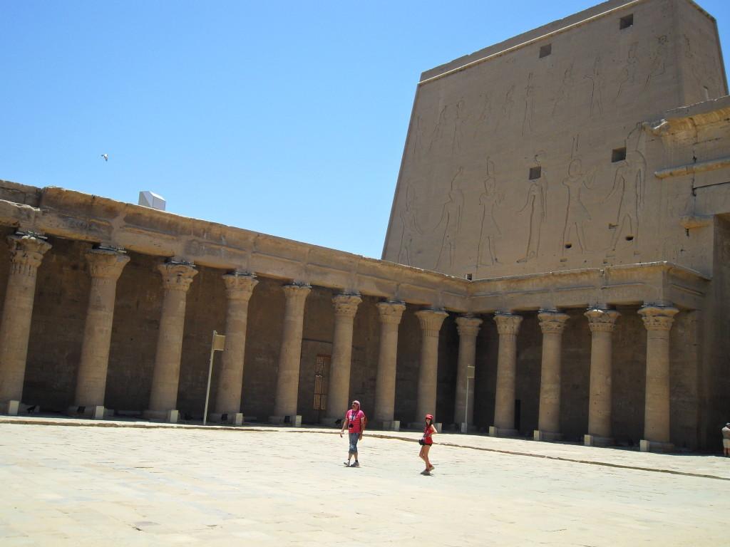 Templo de Edfú.