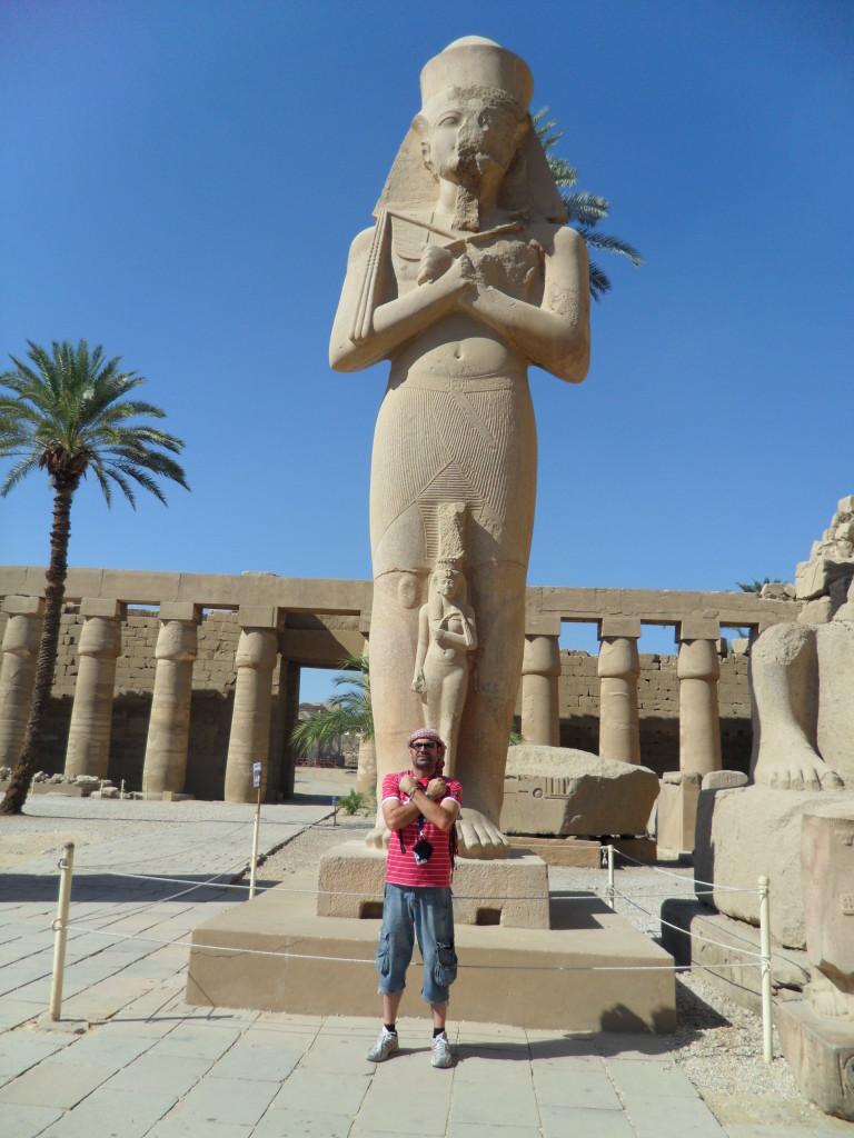 Estatua de Ramsés II.