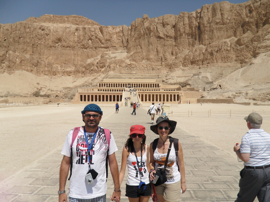 Templo de Hatshepsut, en Luxor.