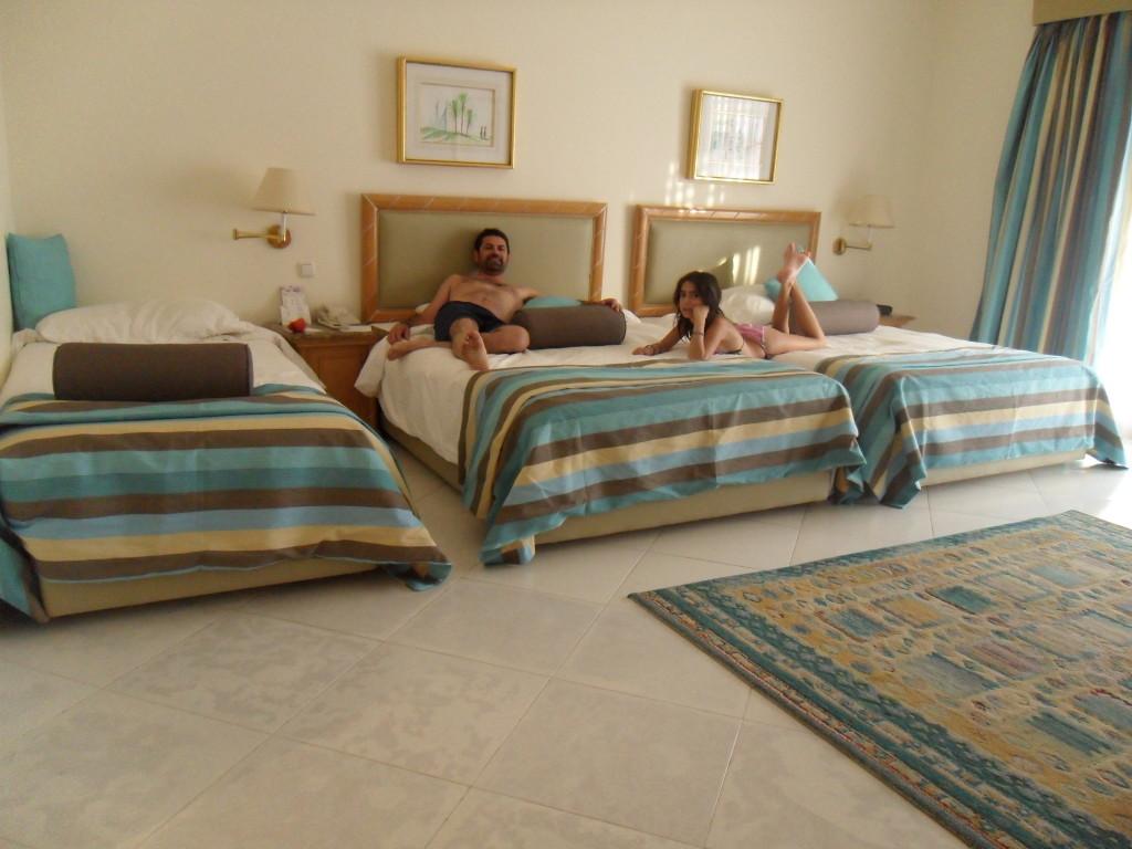 Nuestra habitación en el Hotel Marítim Jolie Ville Golf Resort