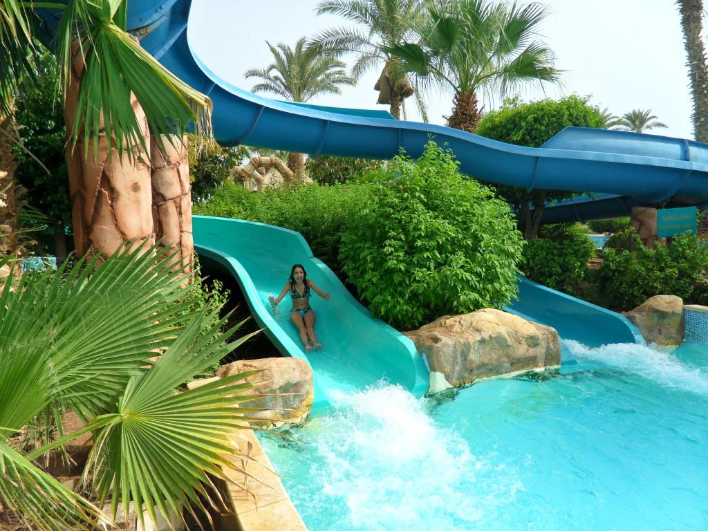 Toboganes en el Hotel Marítim Jolie Ville Golf Resort.