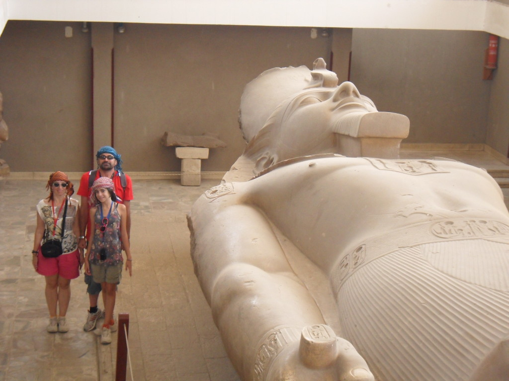 Estatua de Ramses II.