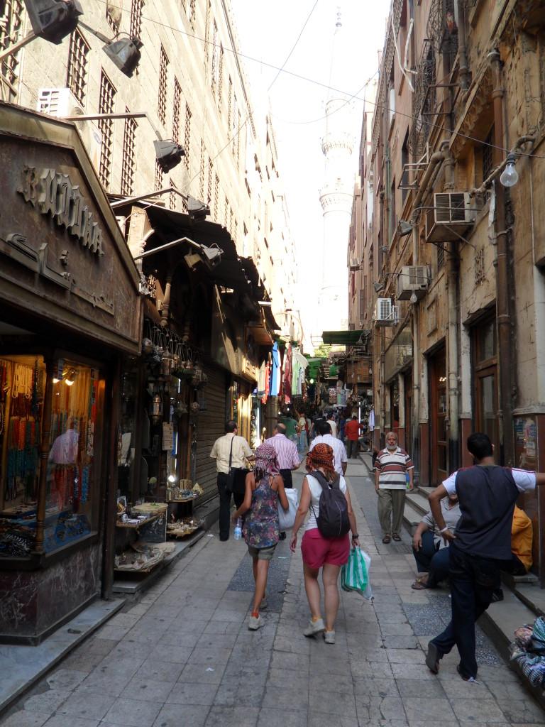 Bazar Khan el Khalili, El Cairo.