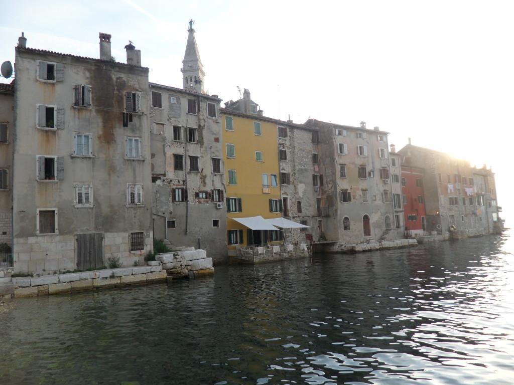 Callejeando por Rovinj en Croacia.