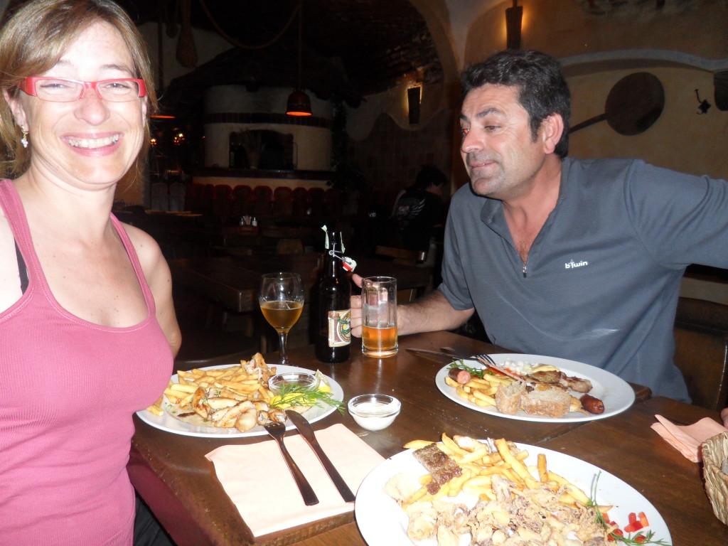 Restaurante Gostilna Sokol en Ljubljana, Eslovenia.