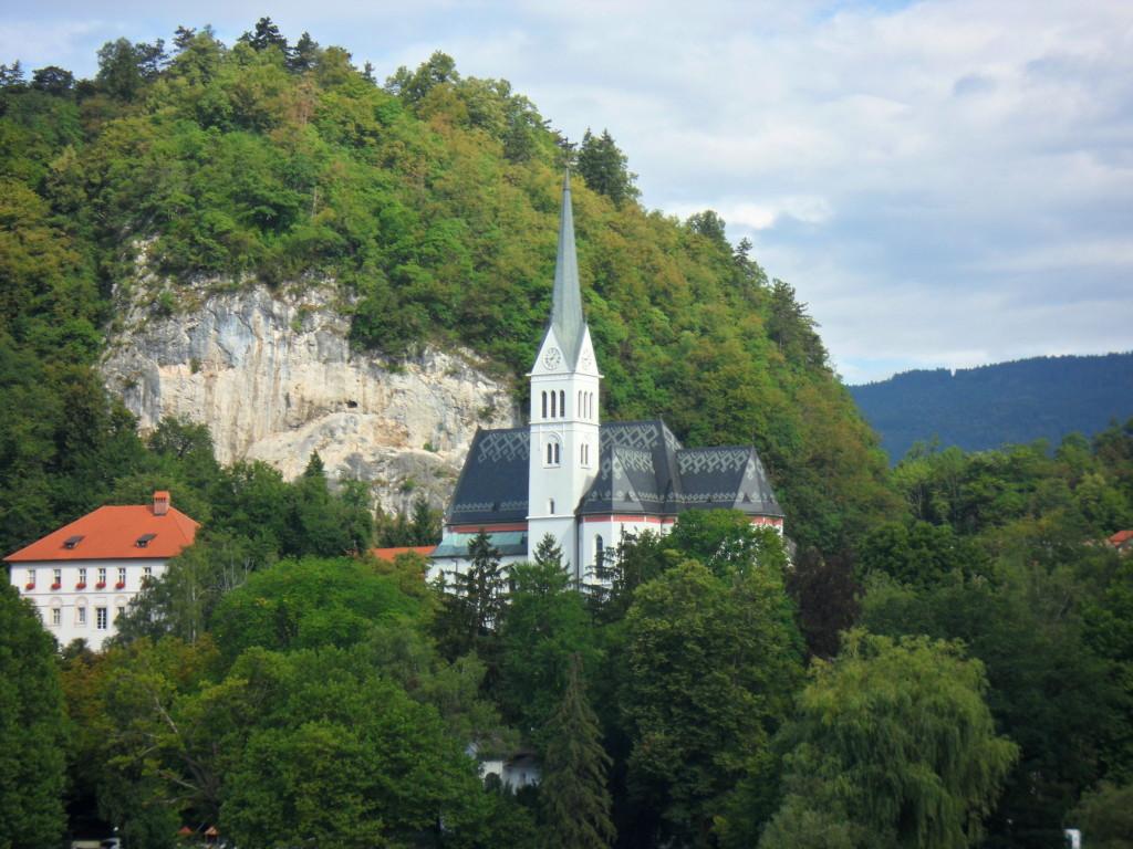 Alrededores del Lago Bled, Eslovenia.