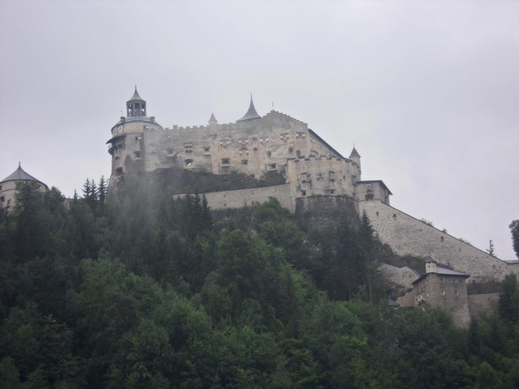 Castillo Werfen, Austria.