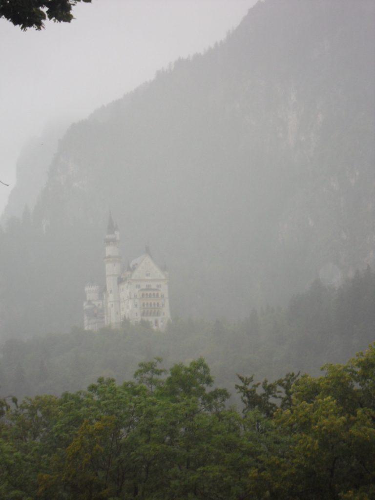 Vistas del entorno, desde el castillo de Hohenschwangau.
