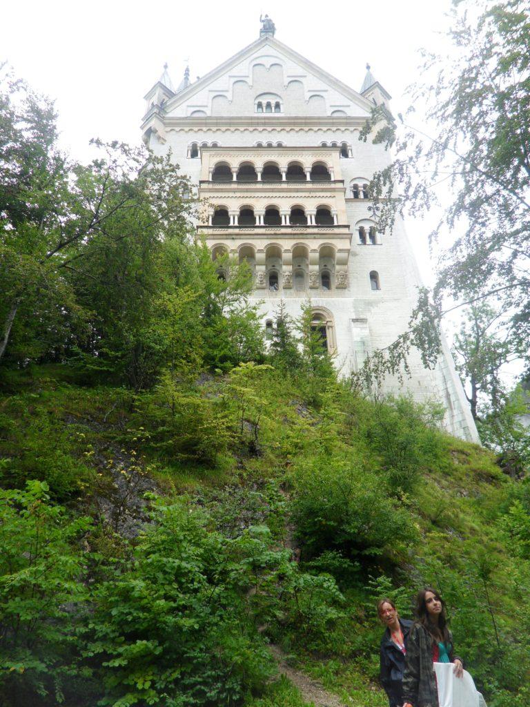Castillo de Newschwanstein, otro de los castillos del Rey Loco, en Alemania.