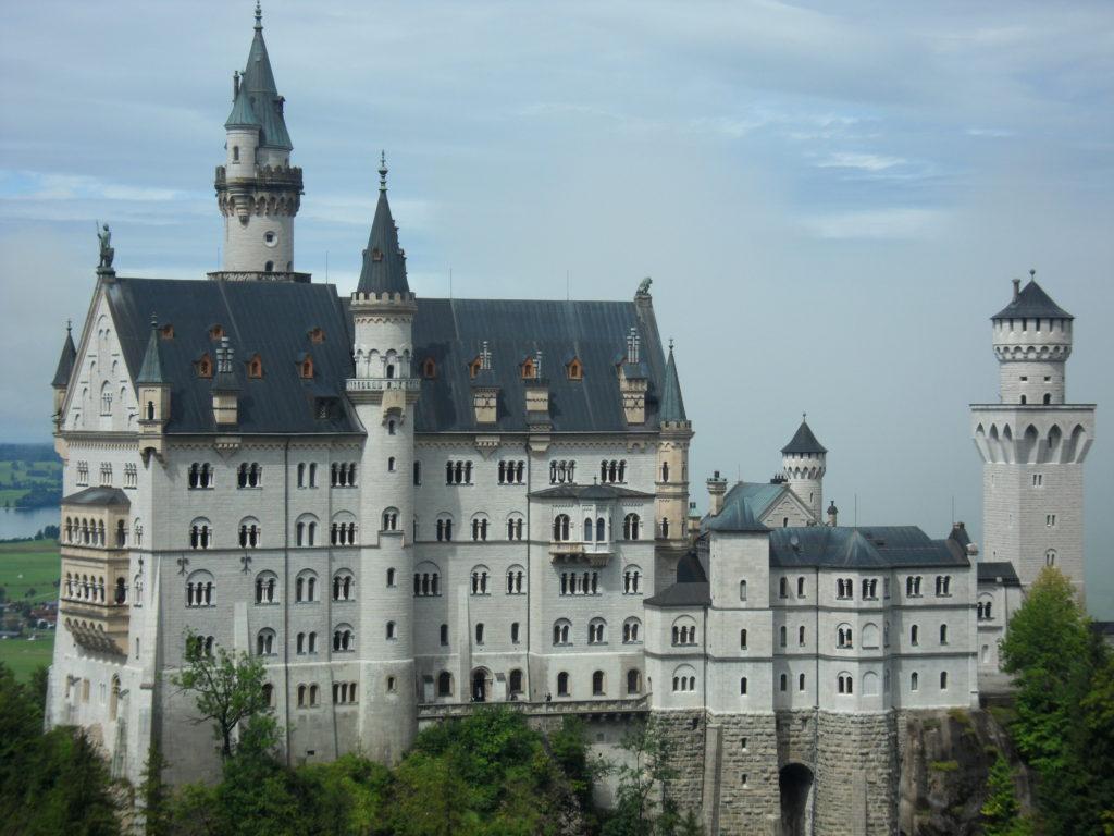 Castillo del Rey Loco, en Alemania.