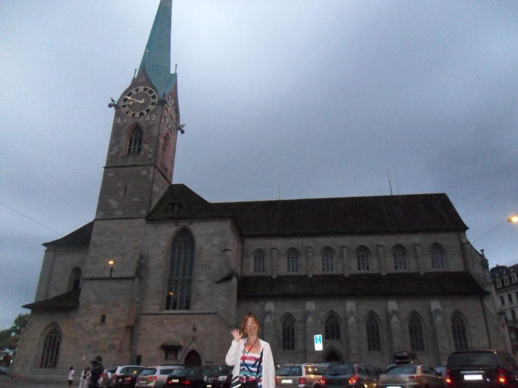 Fraumünster en Zurich, Suiza.