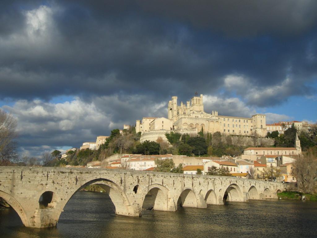 Vistas de Beziers, en el Sur de Francia.