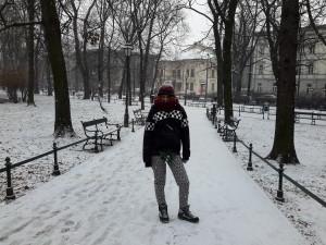 Paseando por Cracovia.