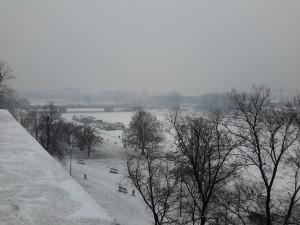 Vistas des del Castillo de Wawel.