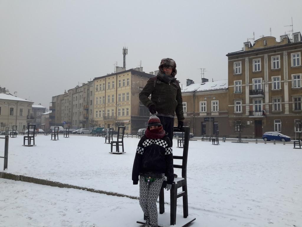 Monumento a los judíos, Cracovia
