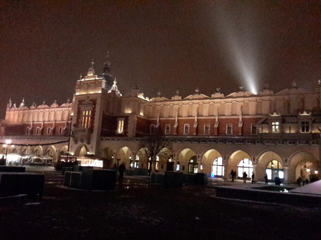 Mercado de Paños, Cracovia.