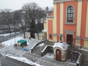 Vistas desde el apartamento de Varsovia
