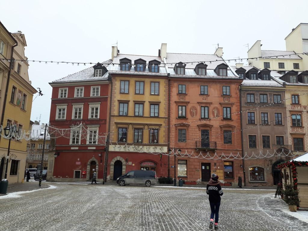 Plaza del Mercado, Varsovia.
