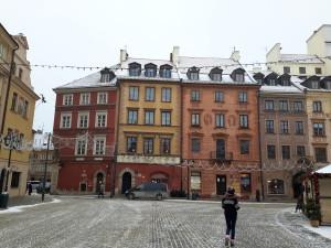 Plaza del Mercado de Varsovia, Polonia.