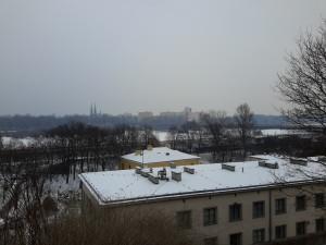 Vistas de Varsovia.