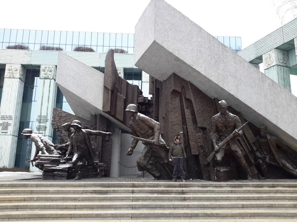 Monumento a los Héroes del Levantamiento, Varsovia.