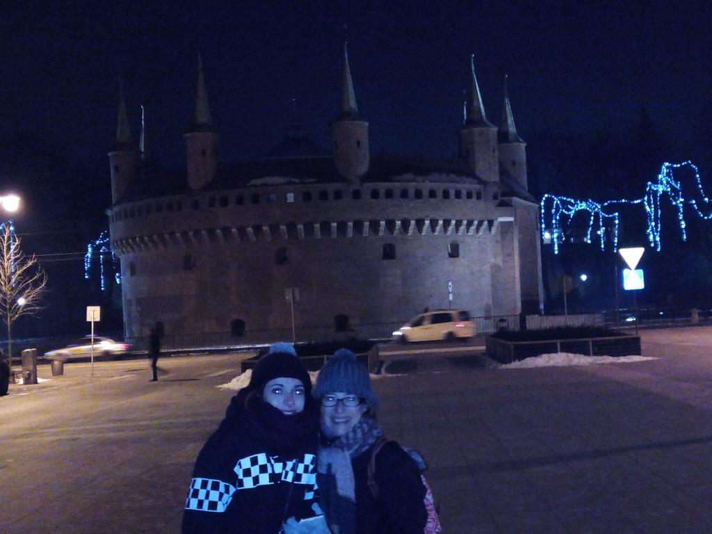 Barbacana en Cracovia.