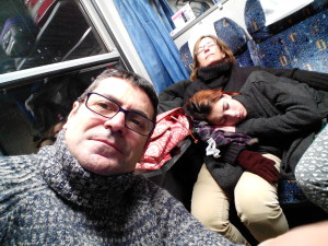 Tren a Varsovia.