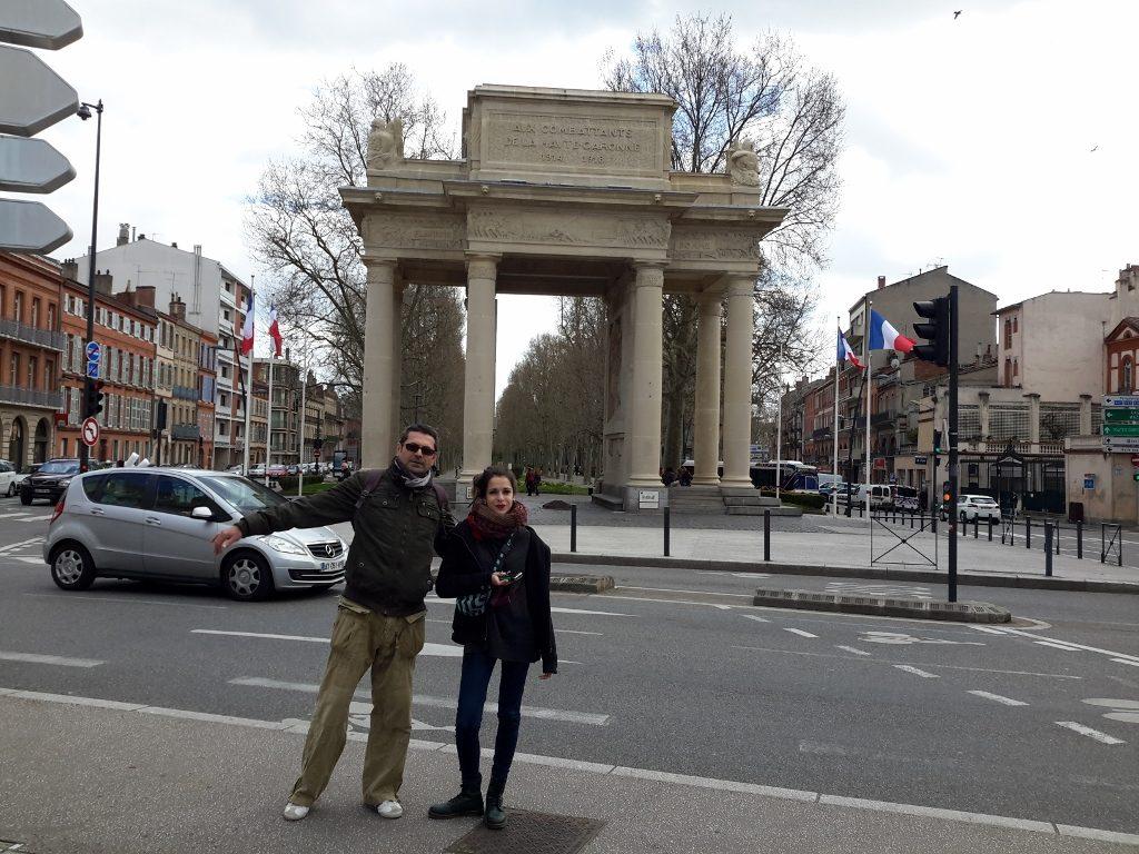 Monument Aux Morts en Toulouse, Francia.