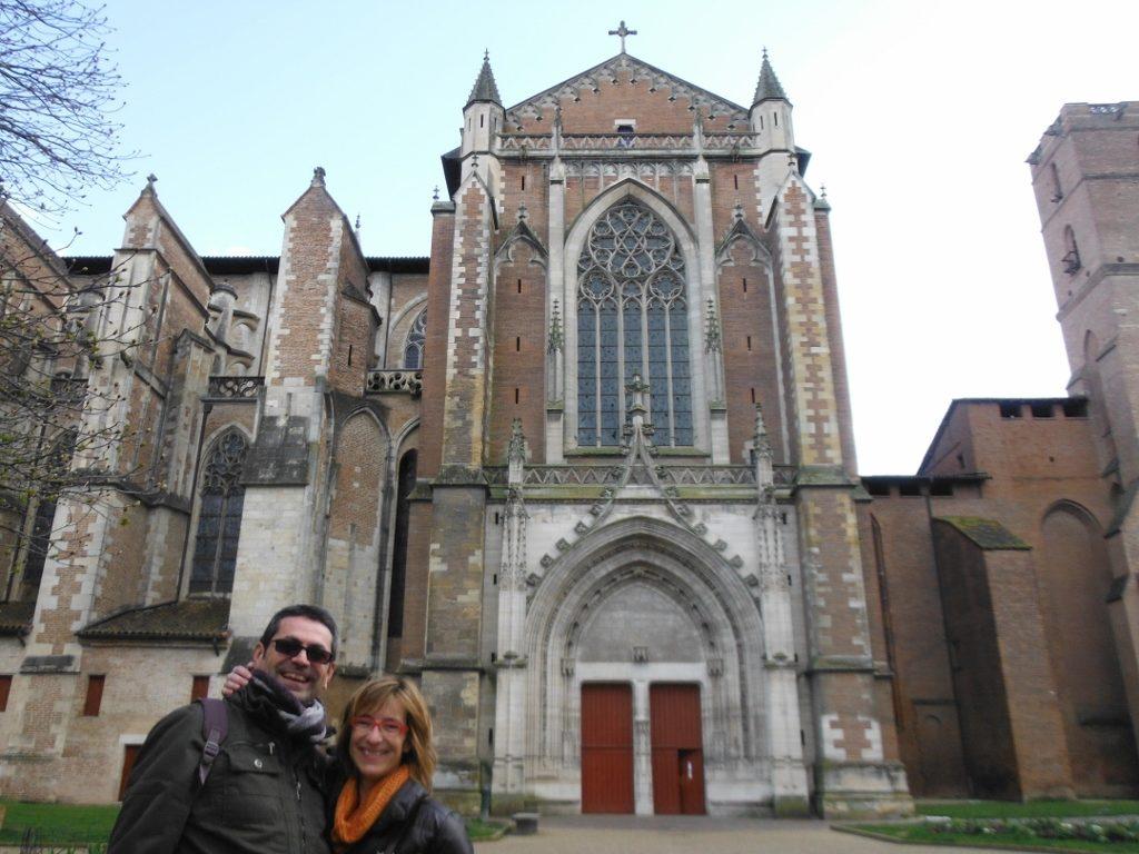 Catedral de Toulouse, Francia.