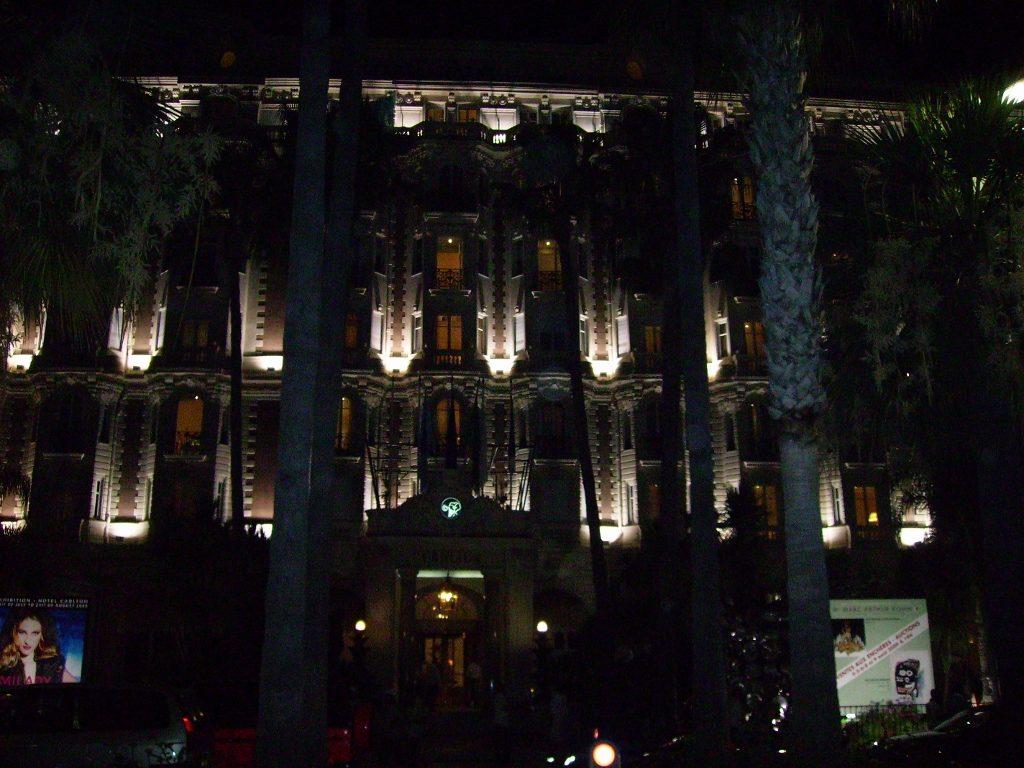 Cannes de noche...