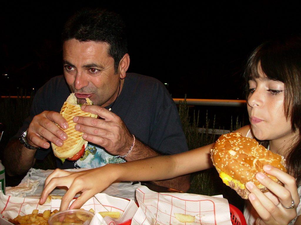 Cenando en el centro de Cannes...