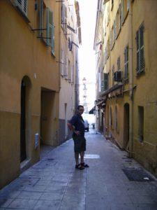 Casco antiguo de Niza, en la Costa Azul.