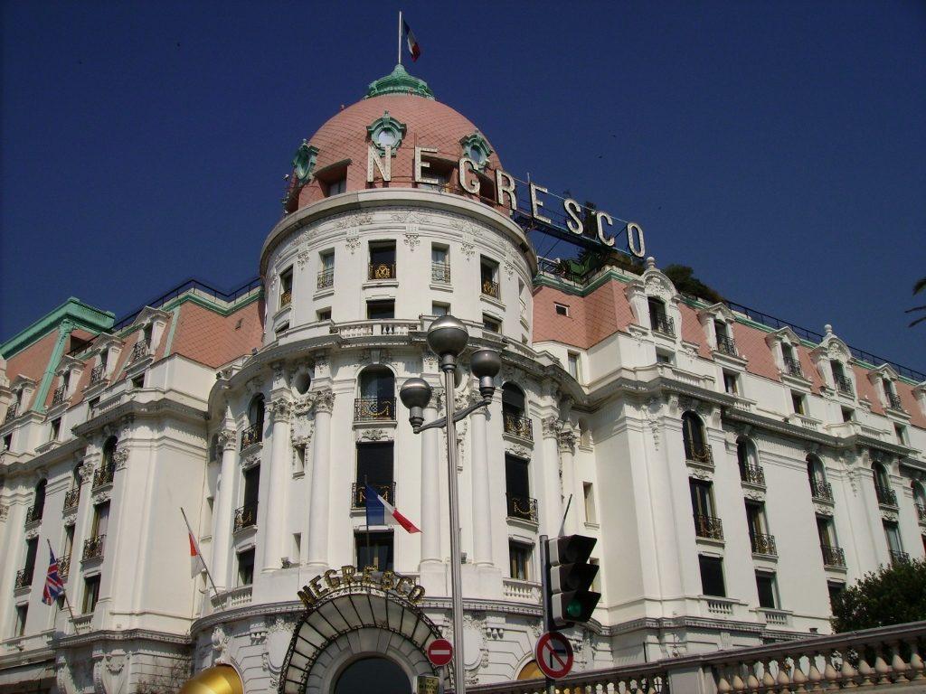 Hotel Negresco en Niza, en la Costa Azul.