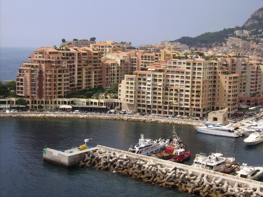 Puerto de Mónaco.